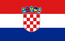 CROATIA - HAND WAVING FLAG (MEDIUM)